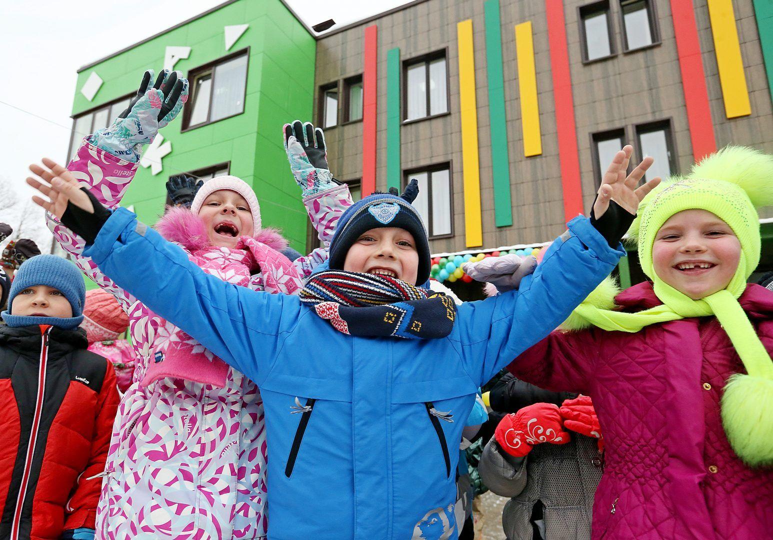 Москва получила десять детских садов и школ с начала года. Фото: Виктор Хабаров
