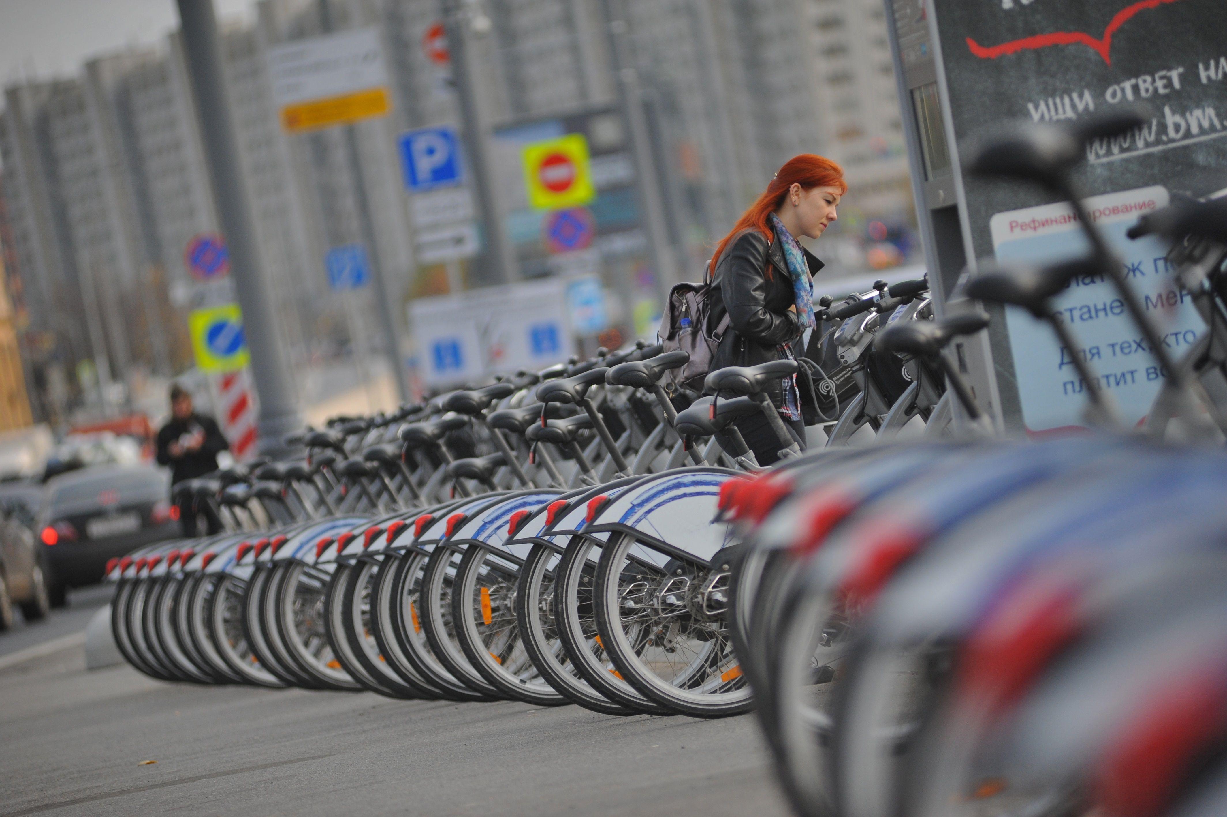 В Москве откроют более десяти километров велодорожек