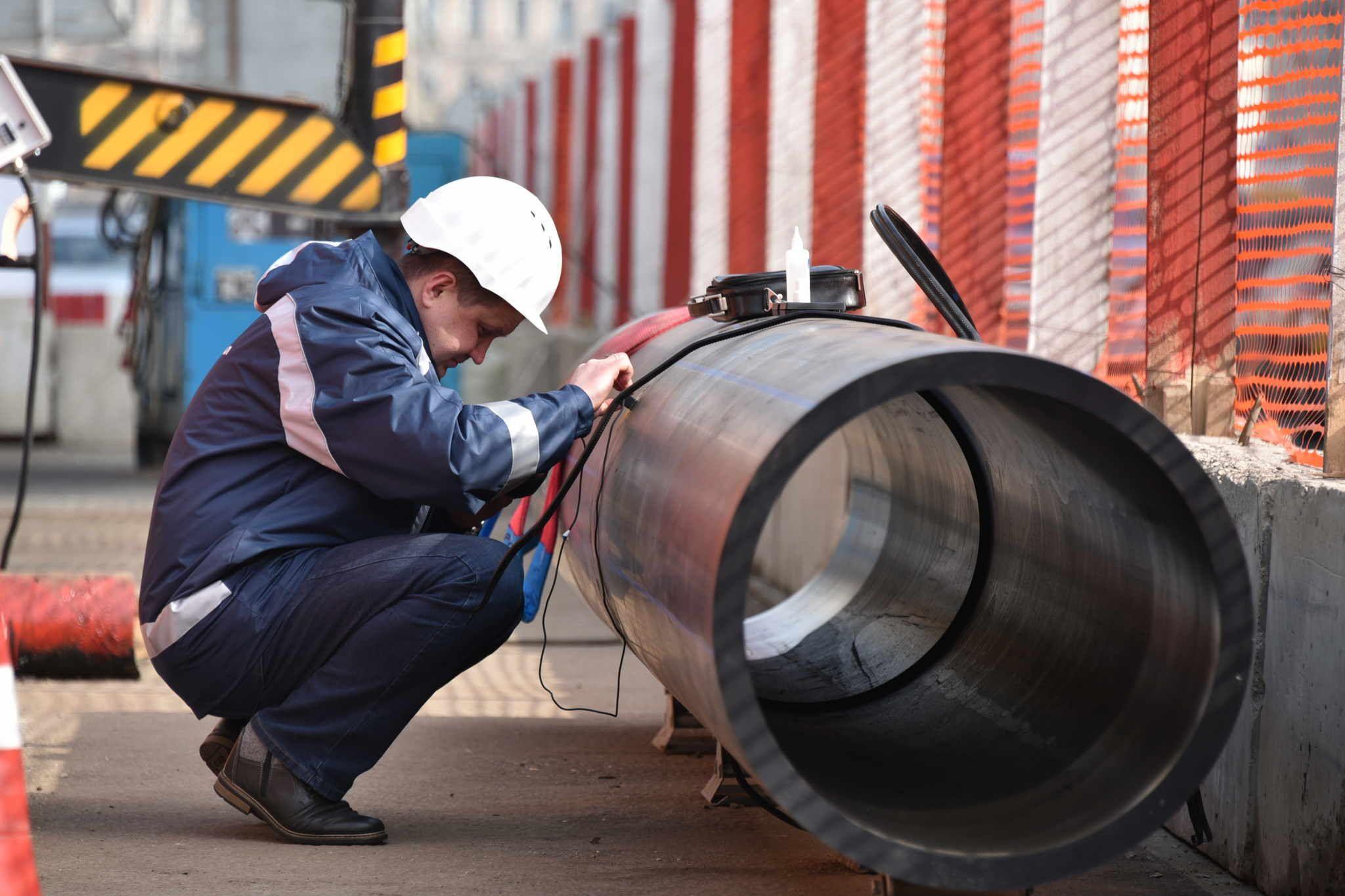 Водопровод в Троицке реконструируют