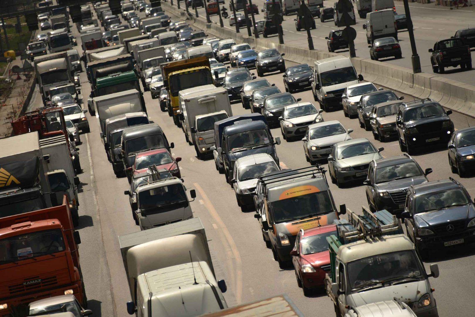 В столице ожидается осложнение дорожной ситуации. Фото: Владимир Новиков