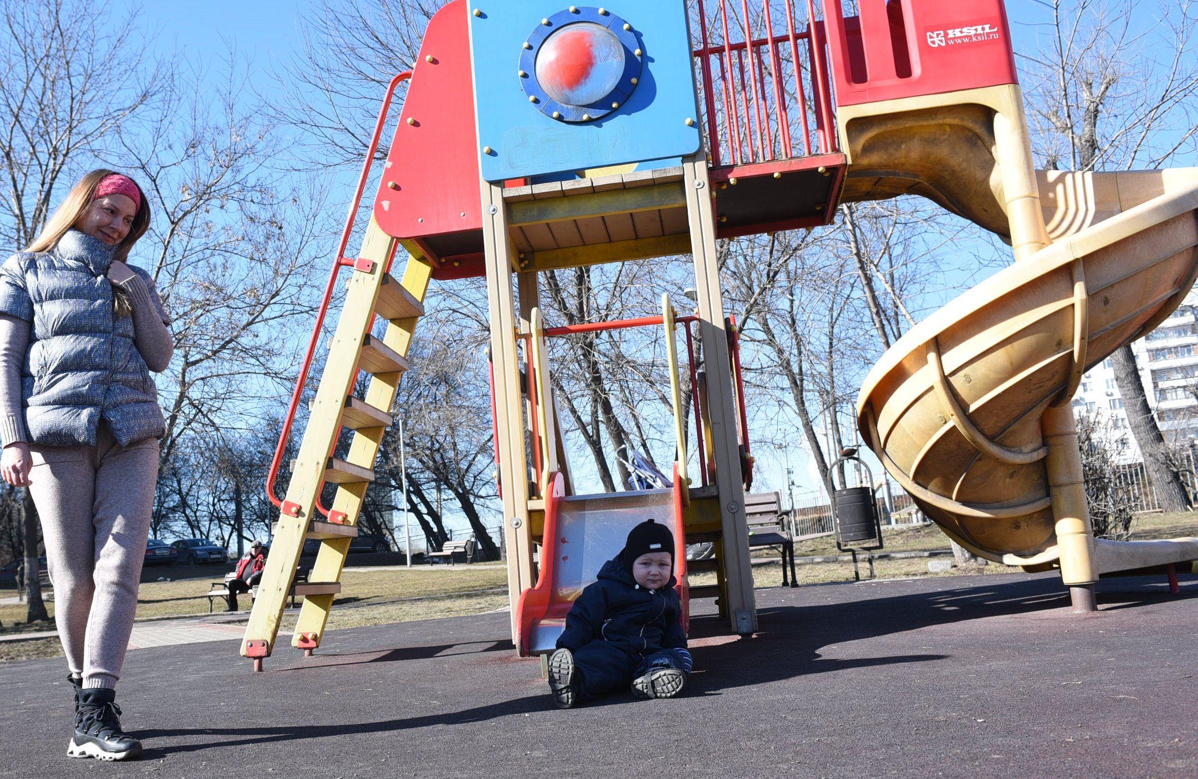Модернизация детской площадки состоится в Московском