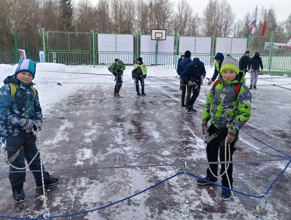 Дети из Вороновского отправятся на соревнования по туризму. Фото предоставил Иван Шустов