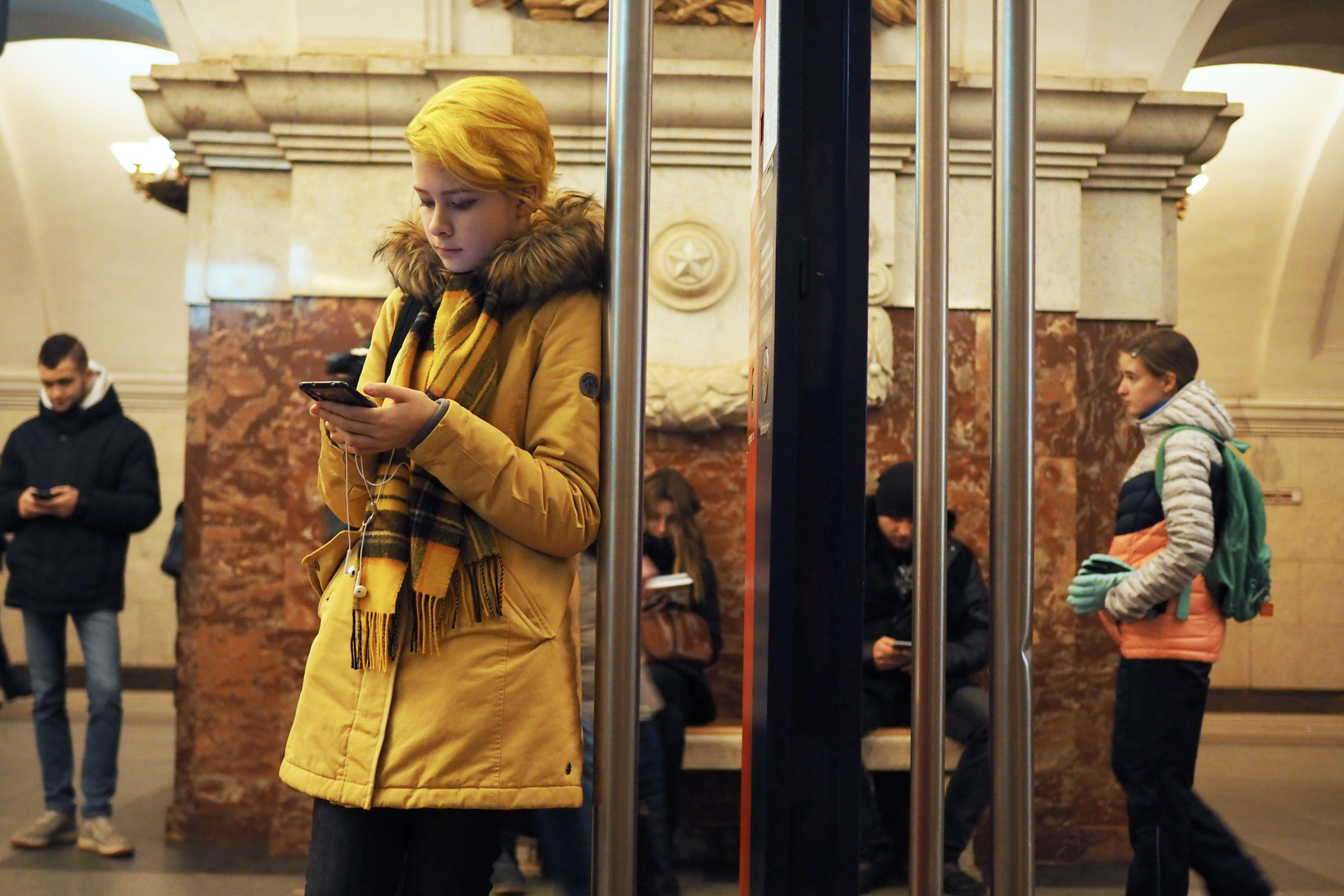 Москвичи смогут выбрать новые сервисы в столичном метро. Фото: Элина Масимова, «Вечерняя Москва»