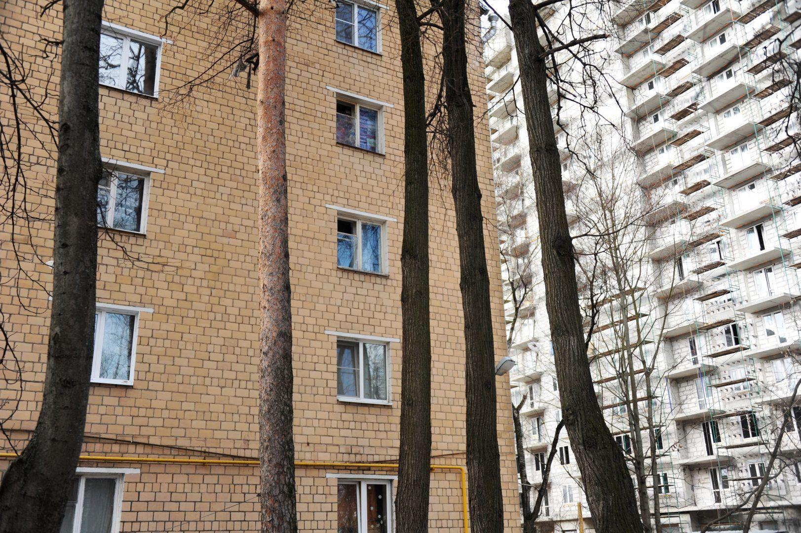 Жилые дома в Мосрентгене подготовят к весне. Фото: Светлана Колоскова, «Вечерняя Москва»