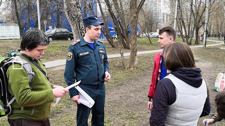 Сотрудники МЧС России проводят патрулирование по местам отдыха граждан на природе