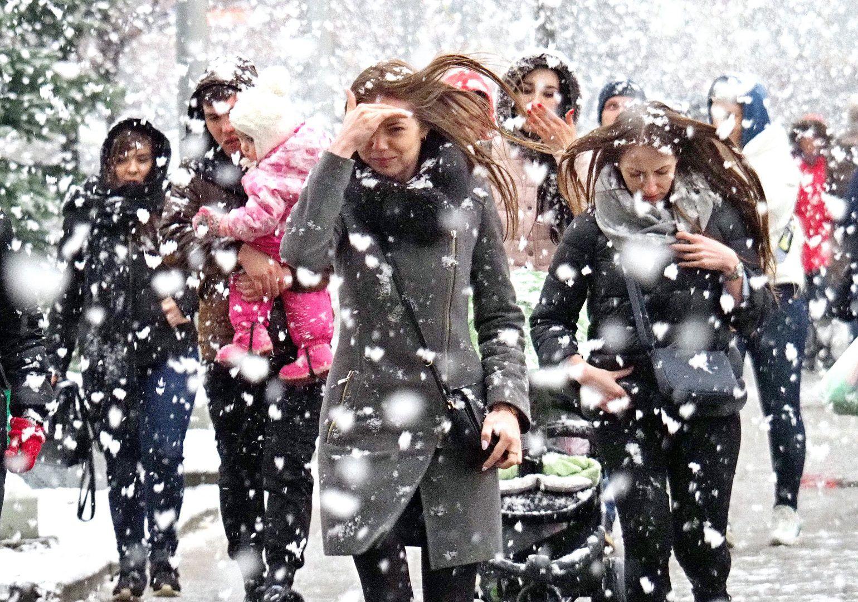 Москву накроет снегопад в выходные дни.Фото: архив, «Вечерняя Москва»