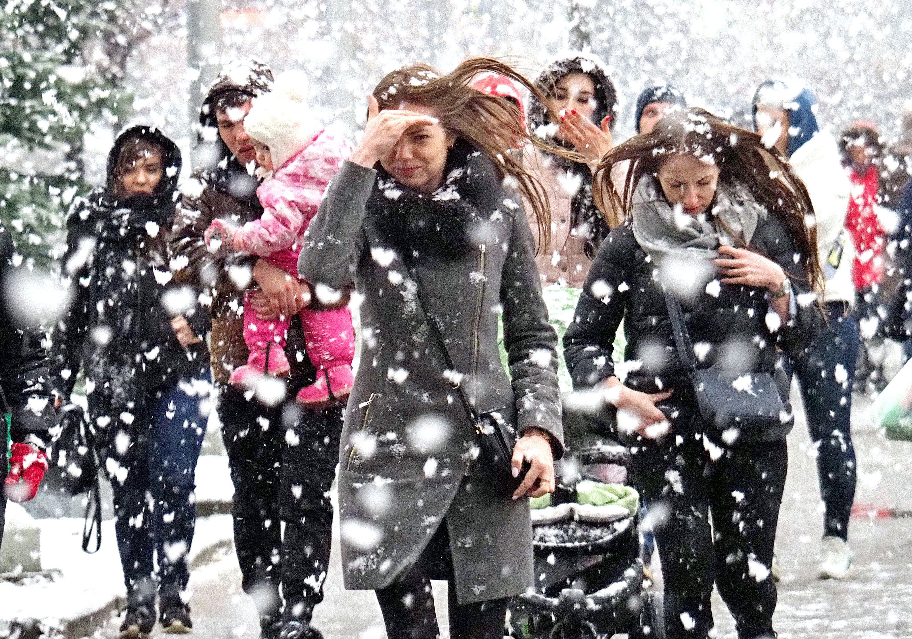 Москву накроет снегопад в выходные дни