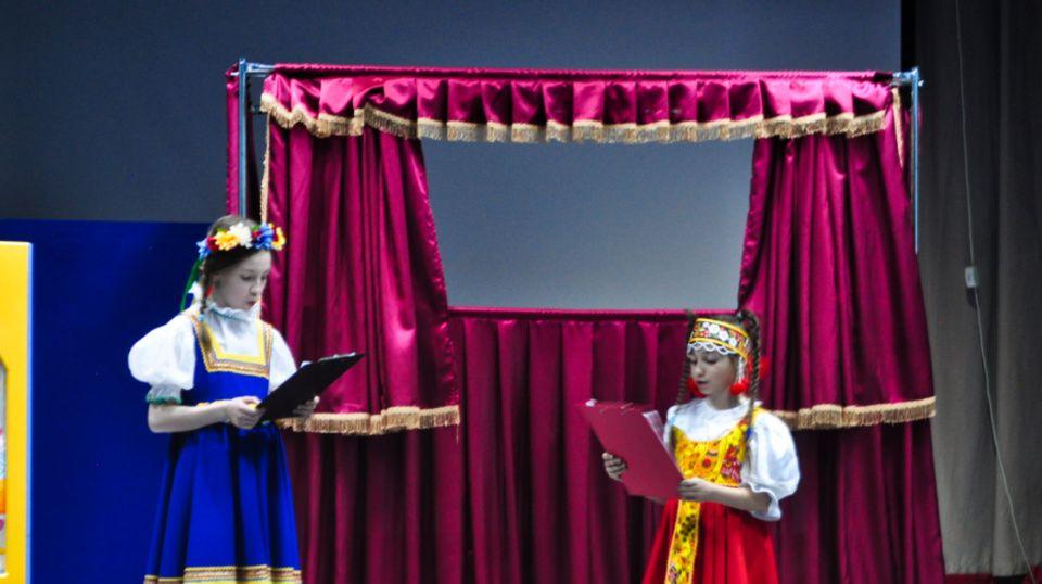 Кукольный спектакль поставили в селе Былово