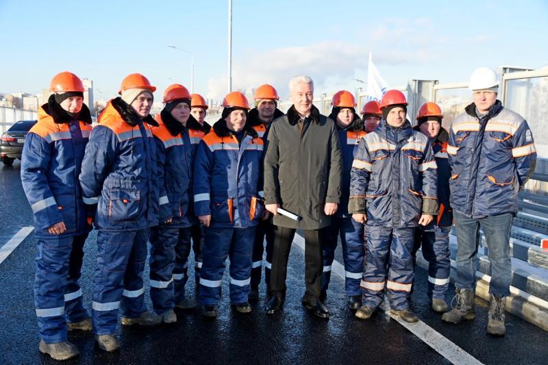 Собянин открыл транспортно-пересадочный узел «Саларьево»