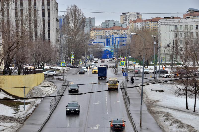 На юге Москвы реконструируют развязку МКАД и Липецкой улицы