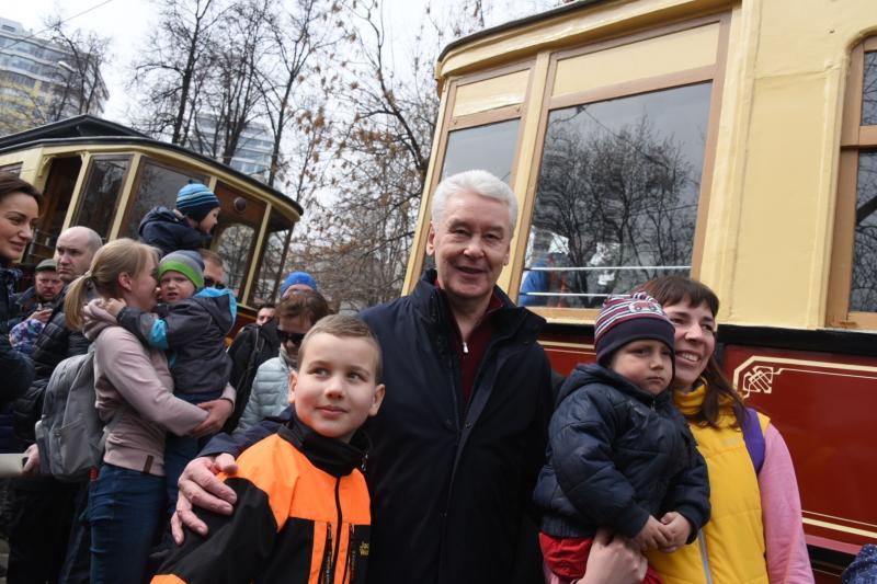 Собянин рассказал о планах обновления трамвайного парка столицы