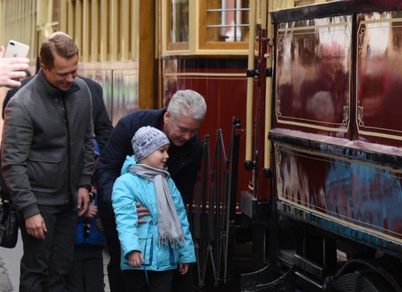 Собянин отметил темпы обновления трамвайного парка столицы