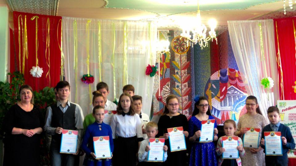Музыкальная гостиная состоялась в поселке Щапово