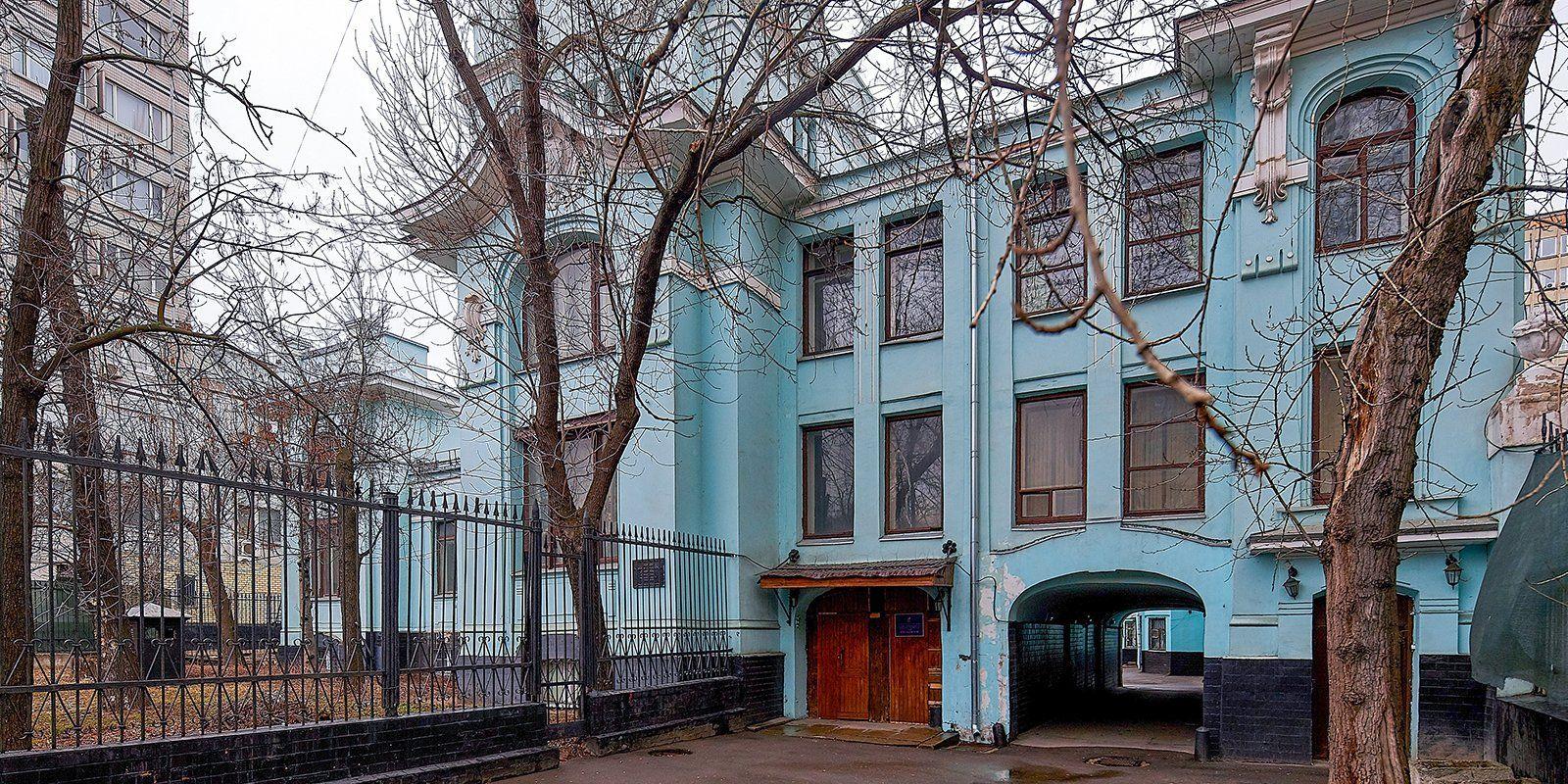 Москва отреставрирует асимметричный особняк XIX-XX веков