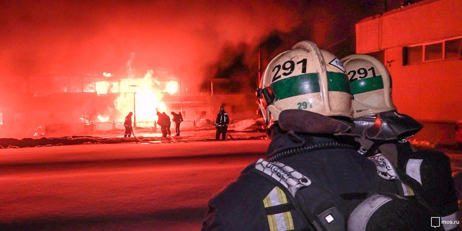 Московские спасатели несут службу на боевом посту