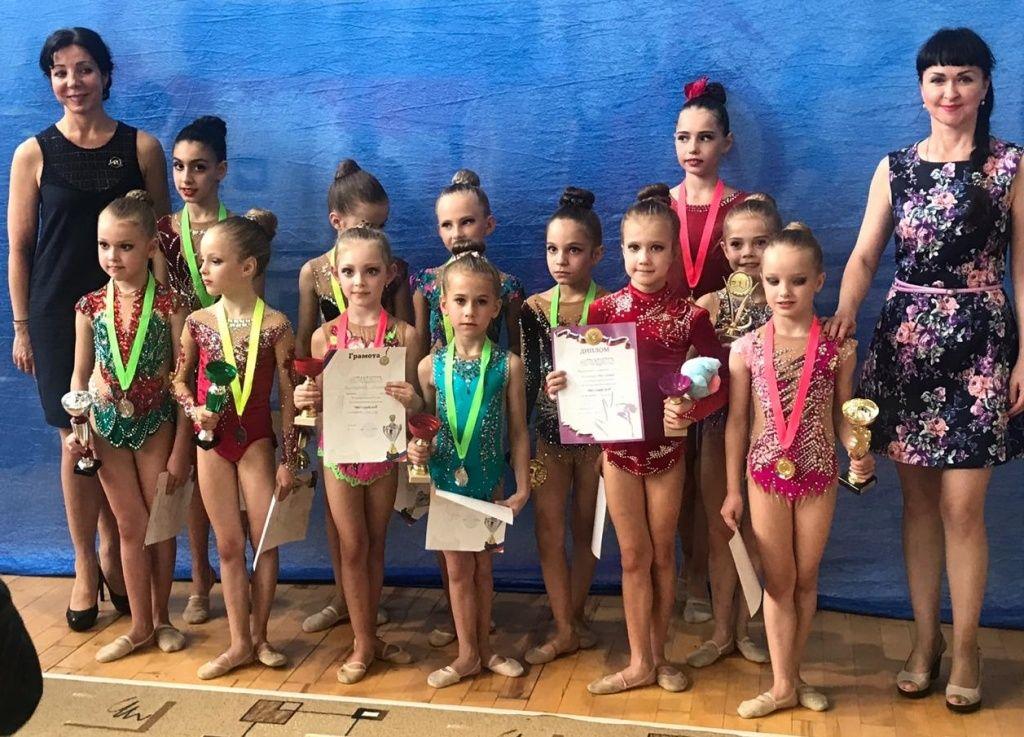 Победителями турнира в Тульской области стали гимнастки из Щербинки