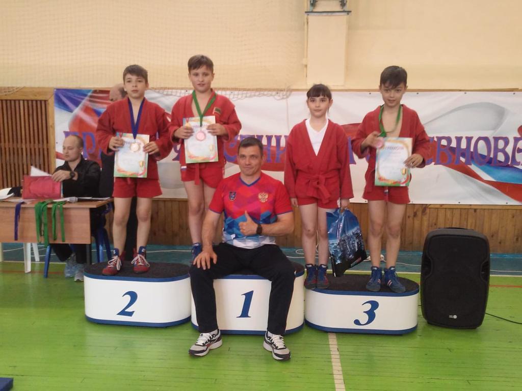 Ребята из Вороновского стали призерами соревнований по самбо