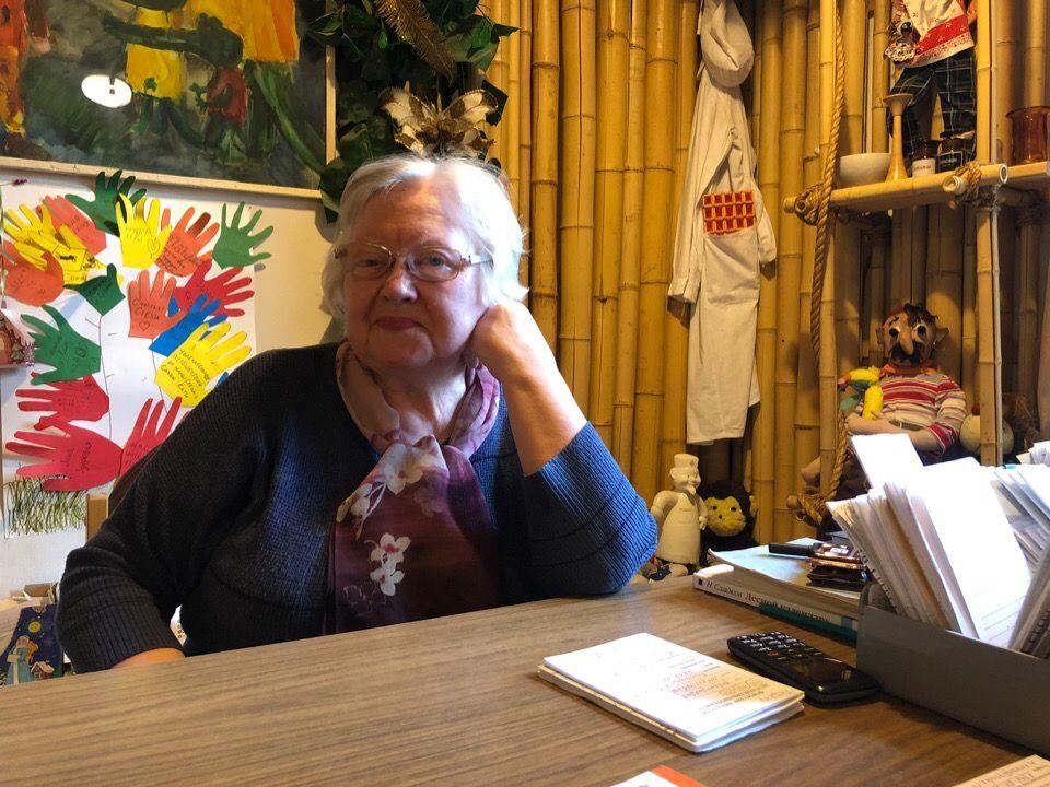 Валентина Хлыстова, библиотекарь. Фото: Анастасия Аброськина