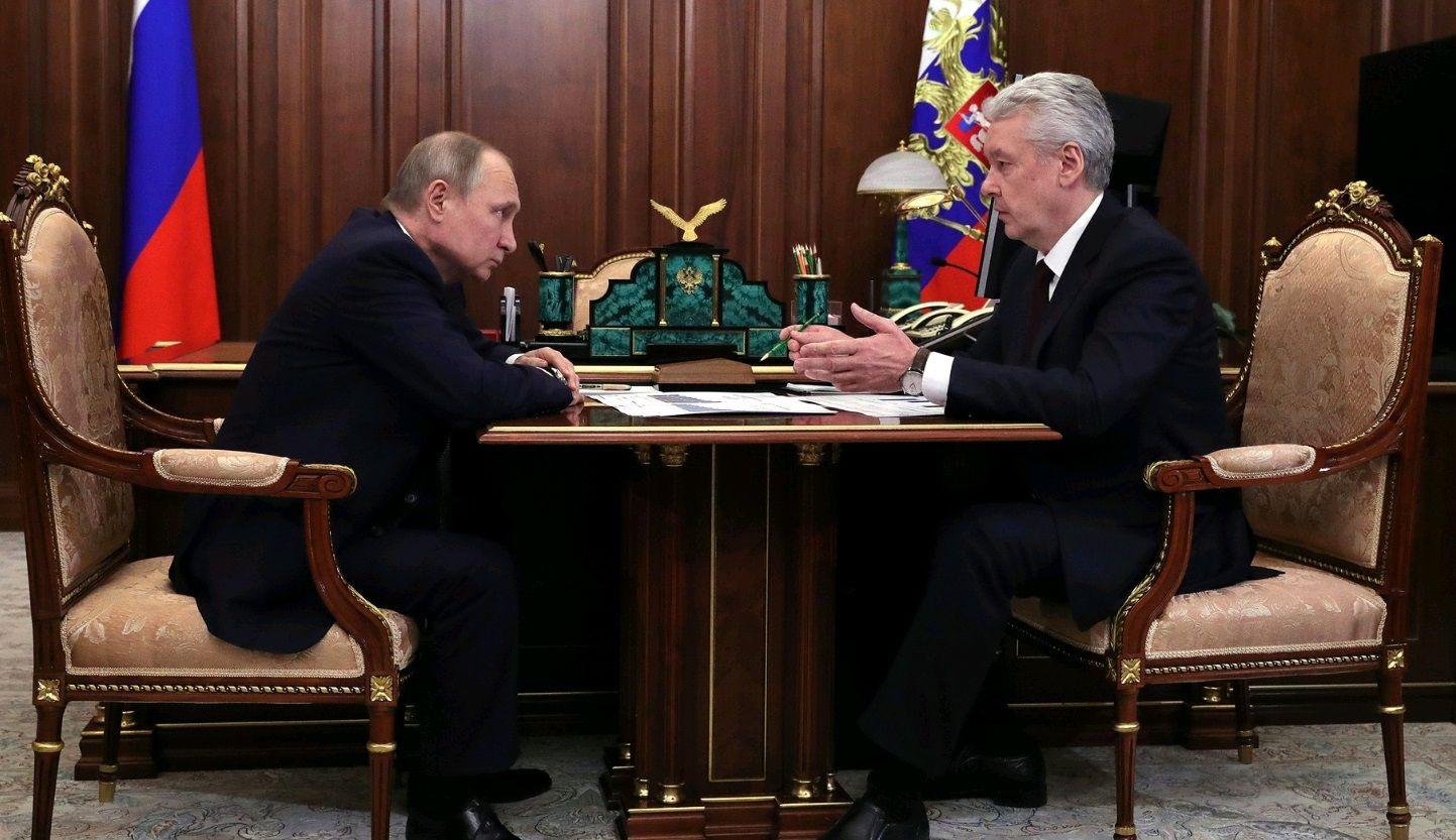 Сергей Собянин рассказал о сроках конкурса на разработку системы распознавания лиц в Москве