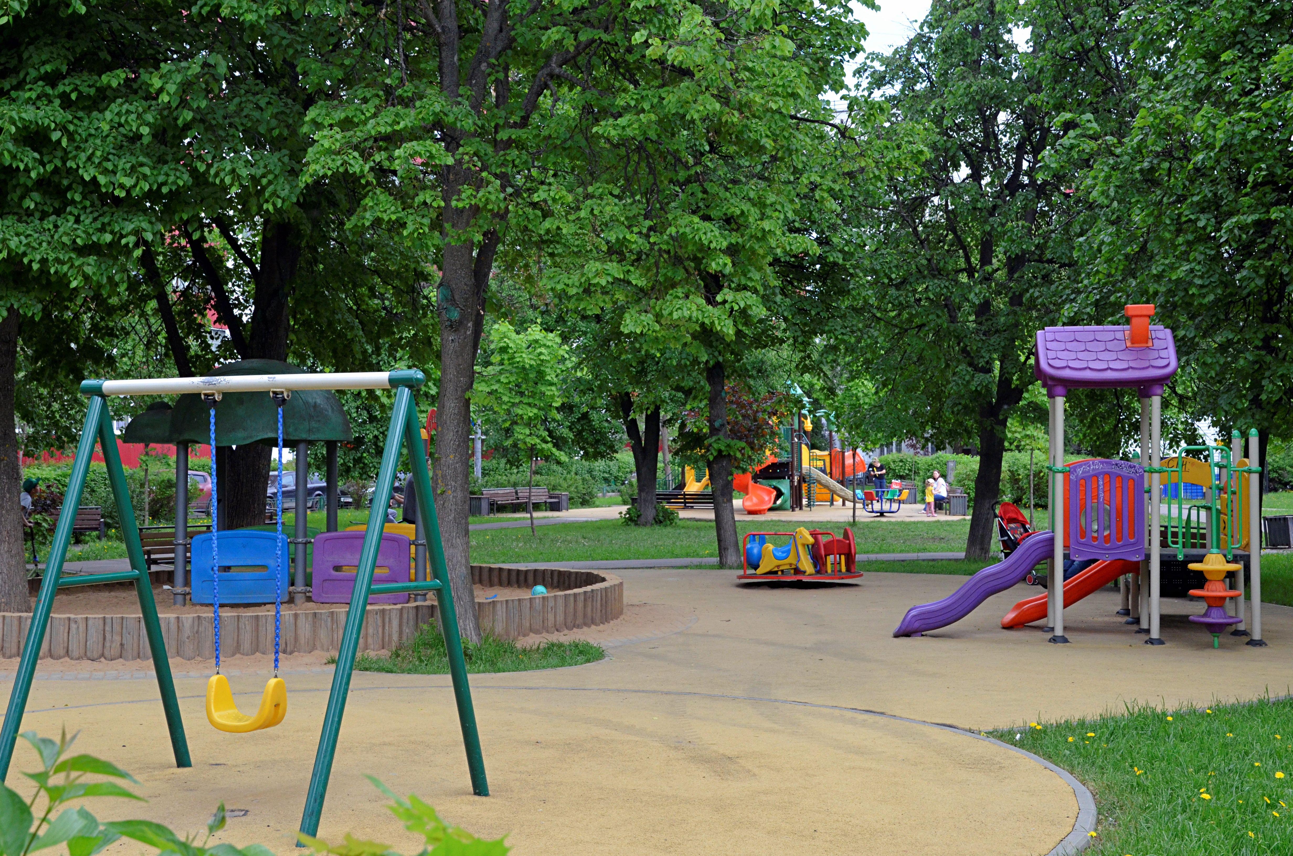 Детскую площадку оборудуют в одной из деревень Роговского