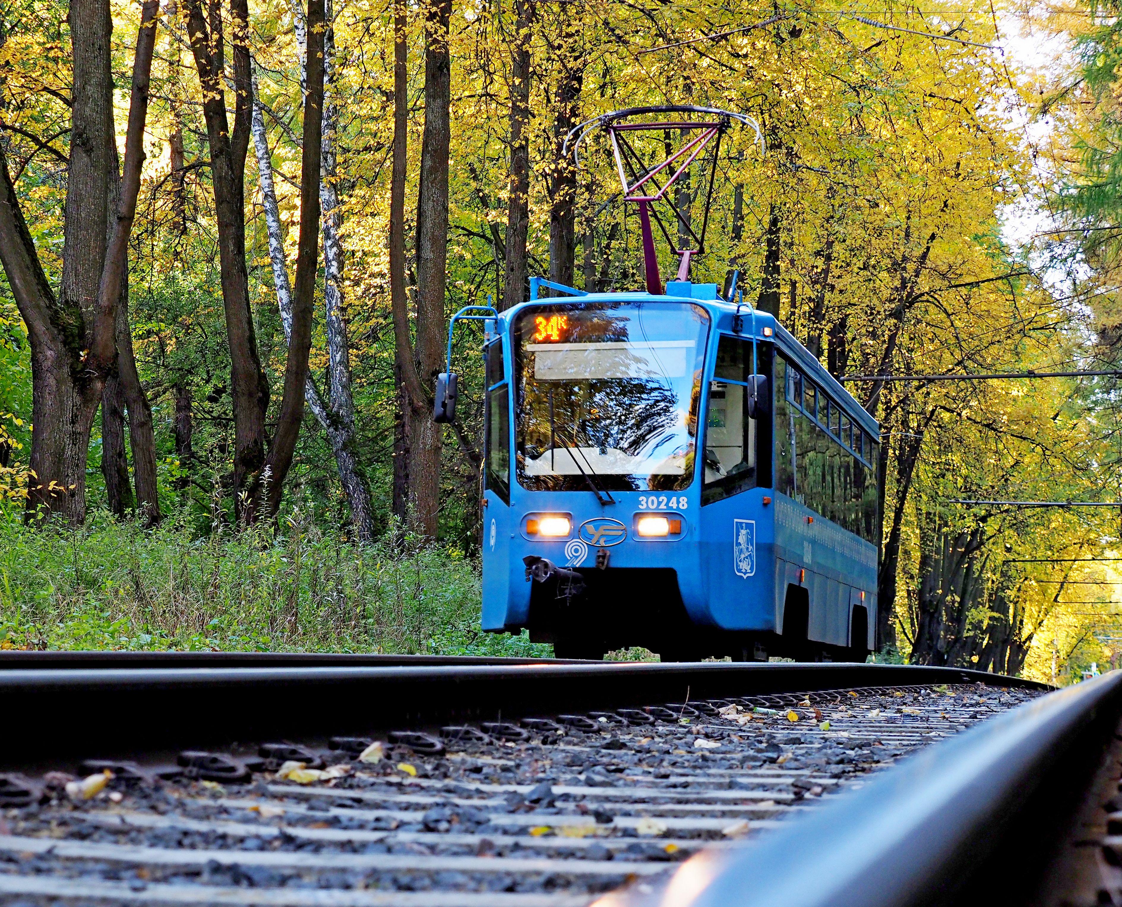Москвичи согласились с укладкой экологически чистых трамвайных шпал
