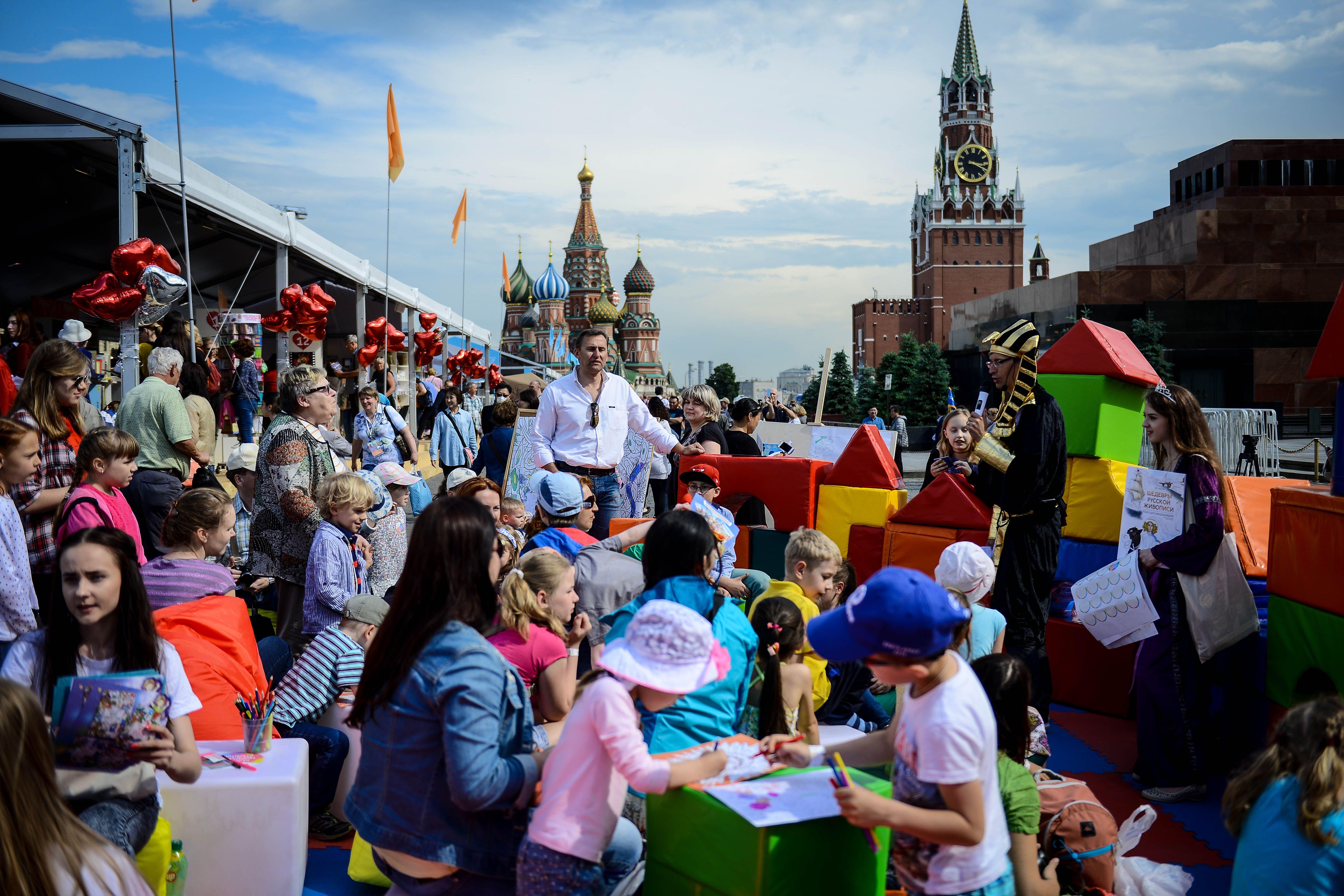 На фестивале «Красная площадь» впервые откроют экскурсионное бюро