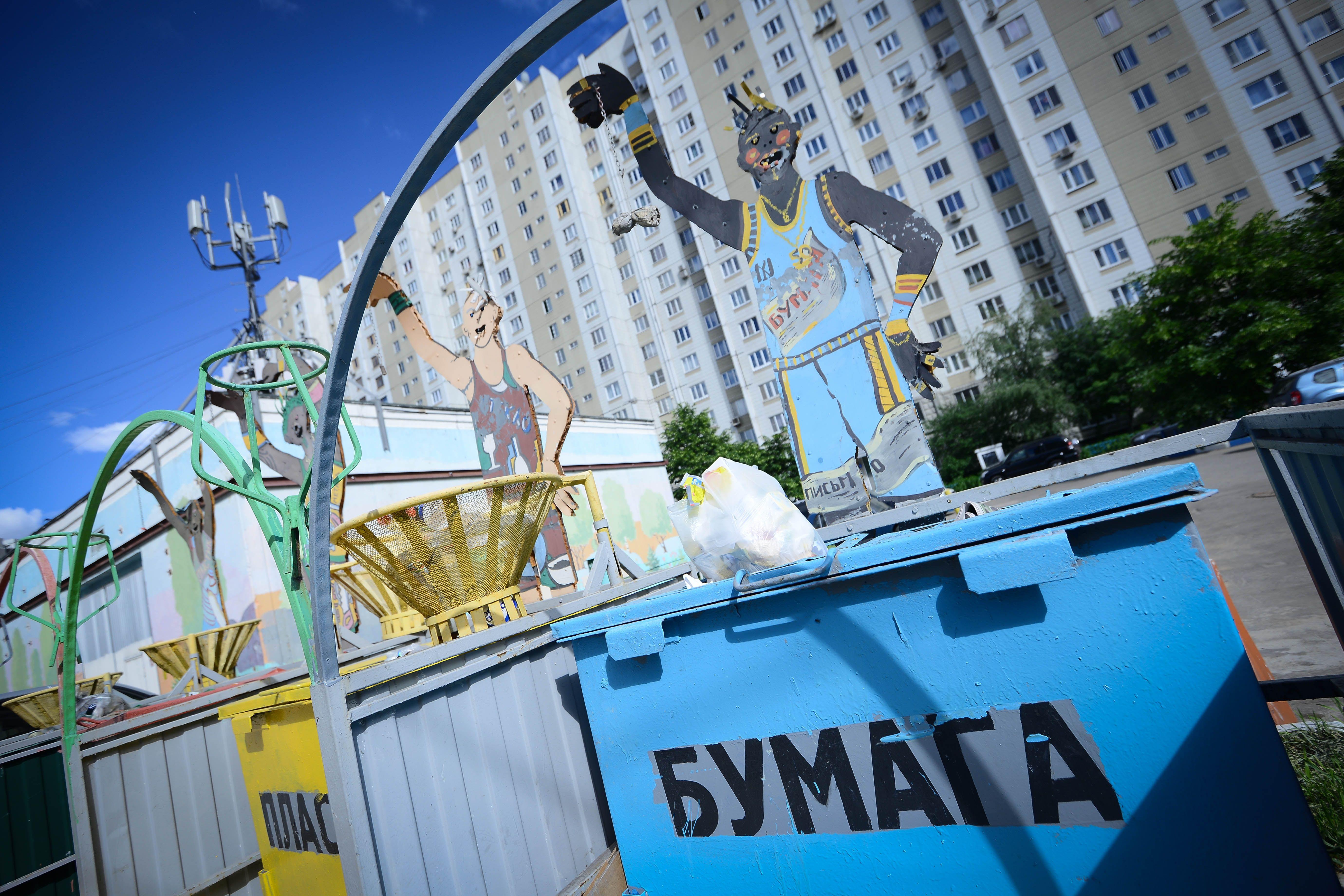Контейнеры для мусора установят в деревнях Михайлово-Ярцевского