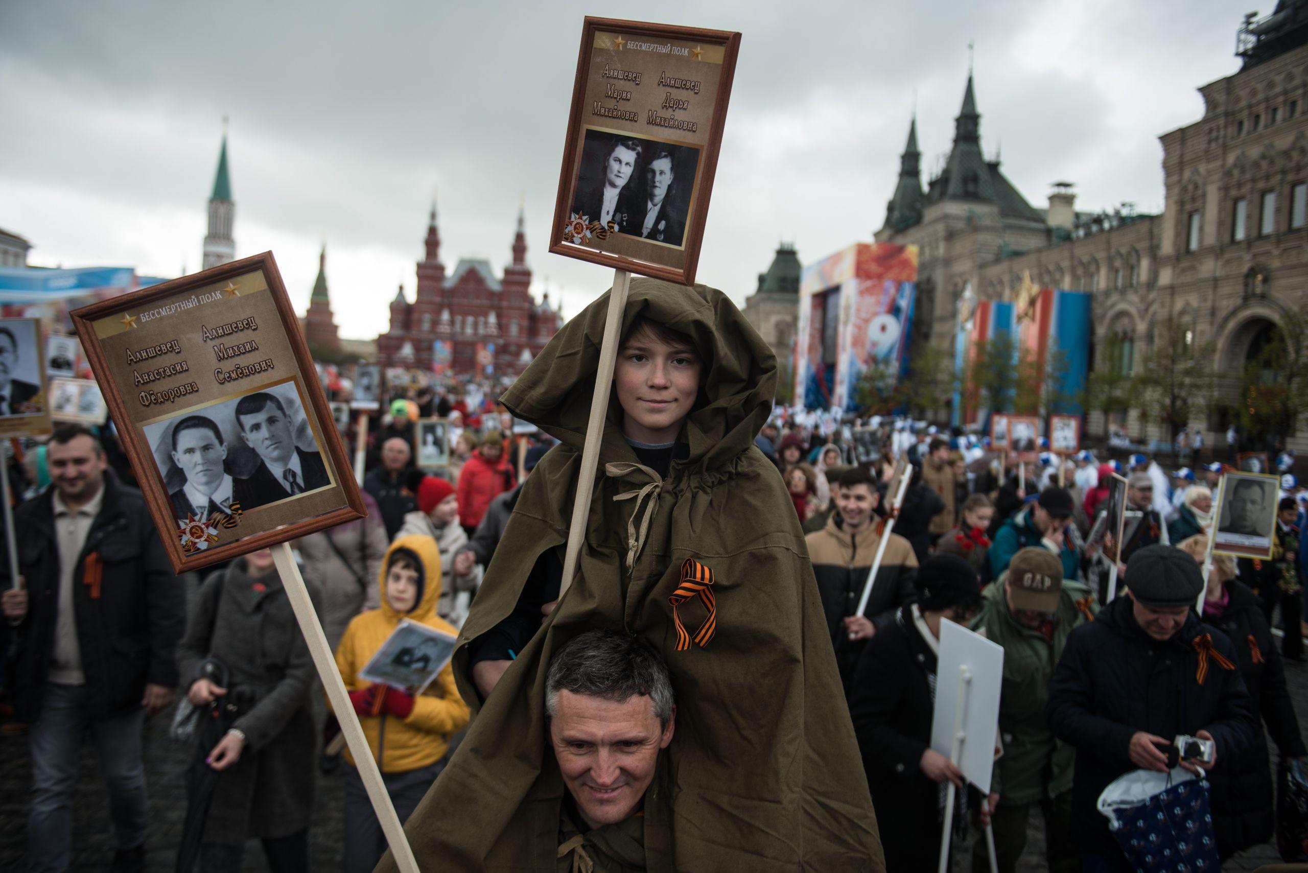 Центр Москвы перекроют на «Бессмертный полк»