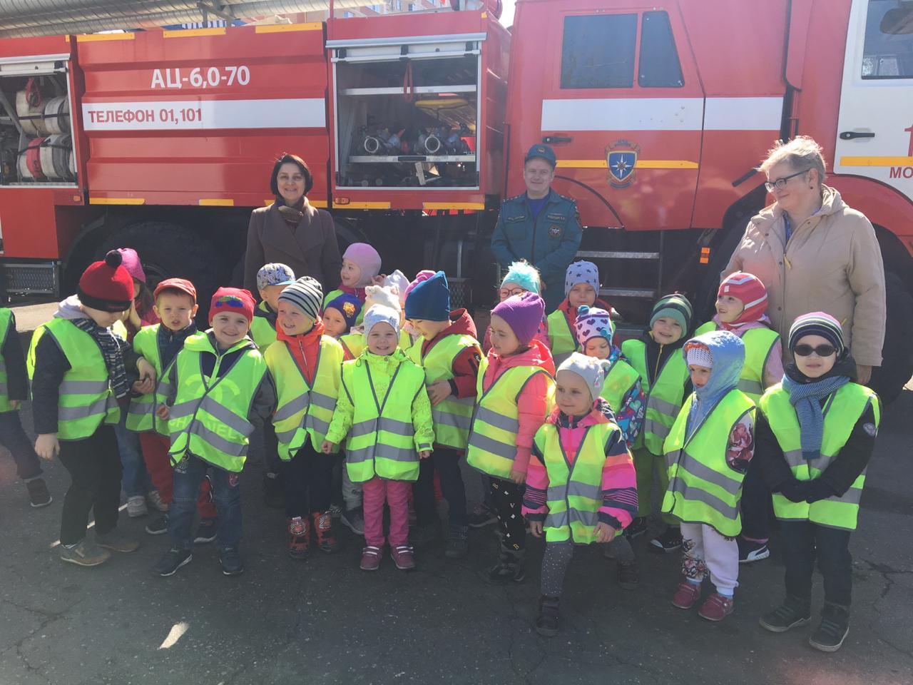 370-лет пожарной охраны России: Детям о своей профессии