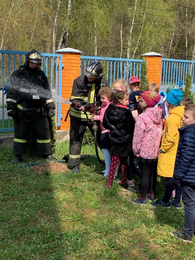 Экскурсия, приуроченная к юбилею пожарной охране России