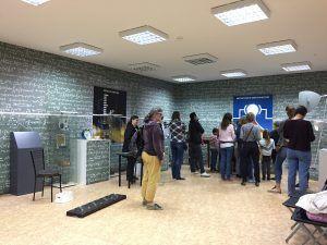 Зал экспериментов в Троицком Доме ученых. Фото: Мария Карташова