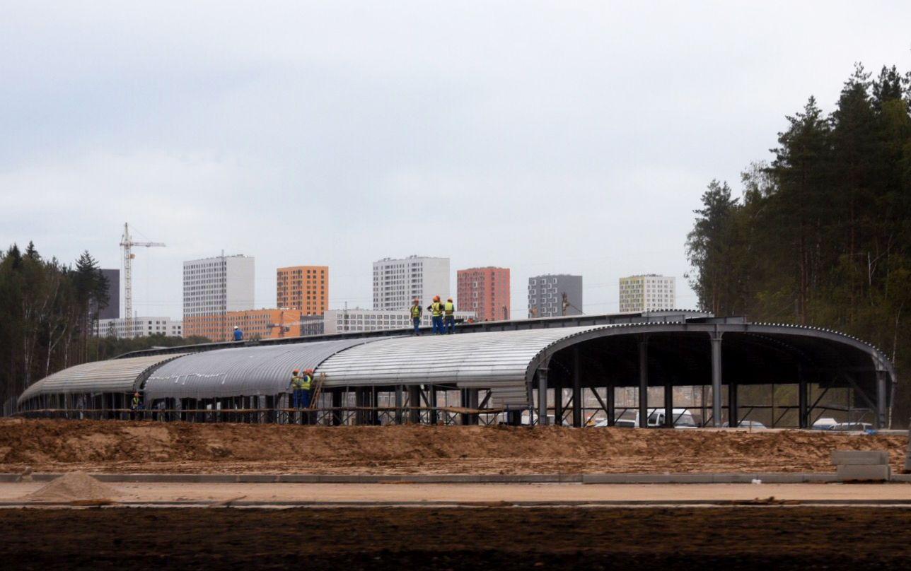 Возле станции метро «Коммунарка» в Новой Москве появятся дороги и тротуары