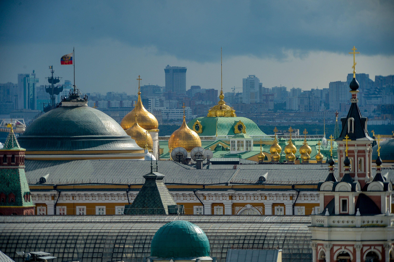 Торнадо надвигается на Москву