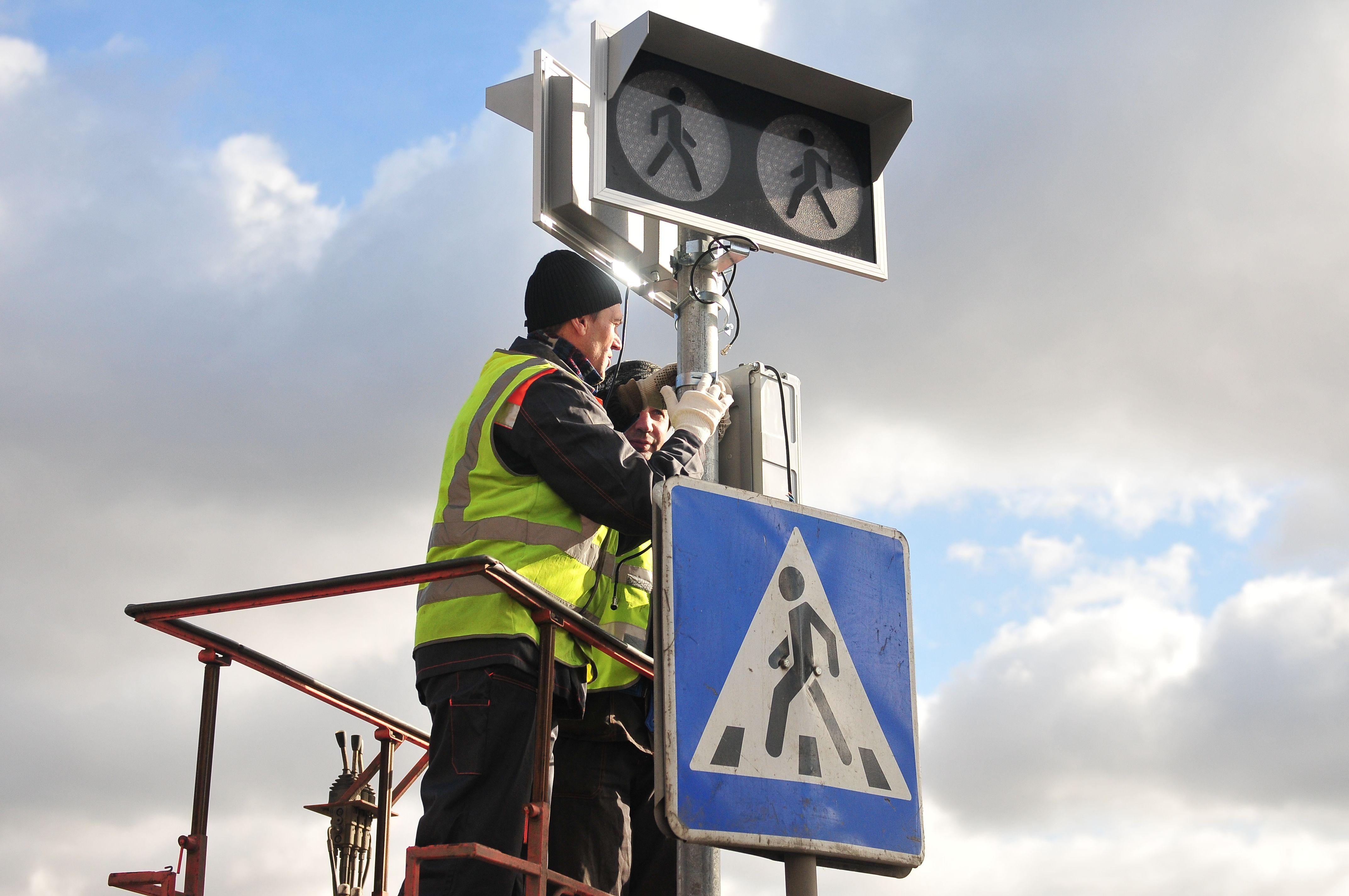 Пешеходный переход в Мосрентгене стал регулируемым