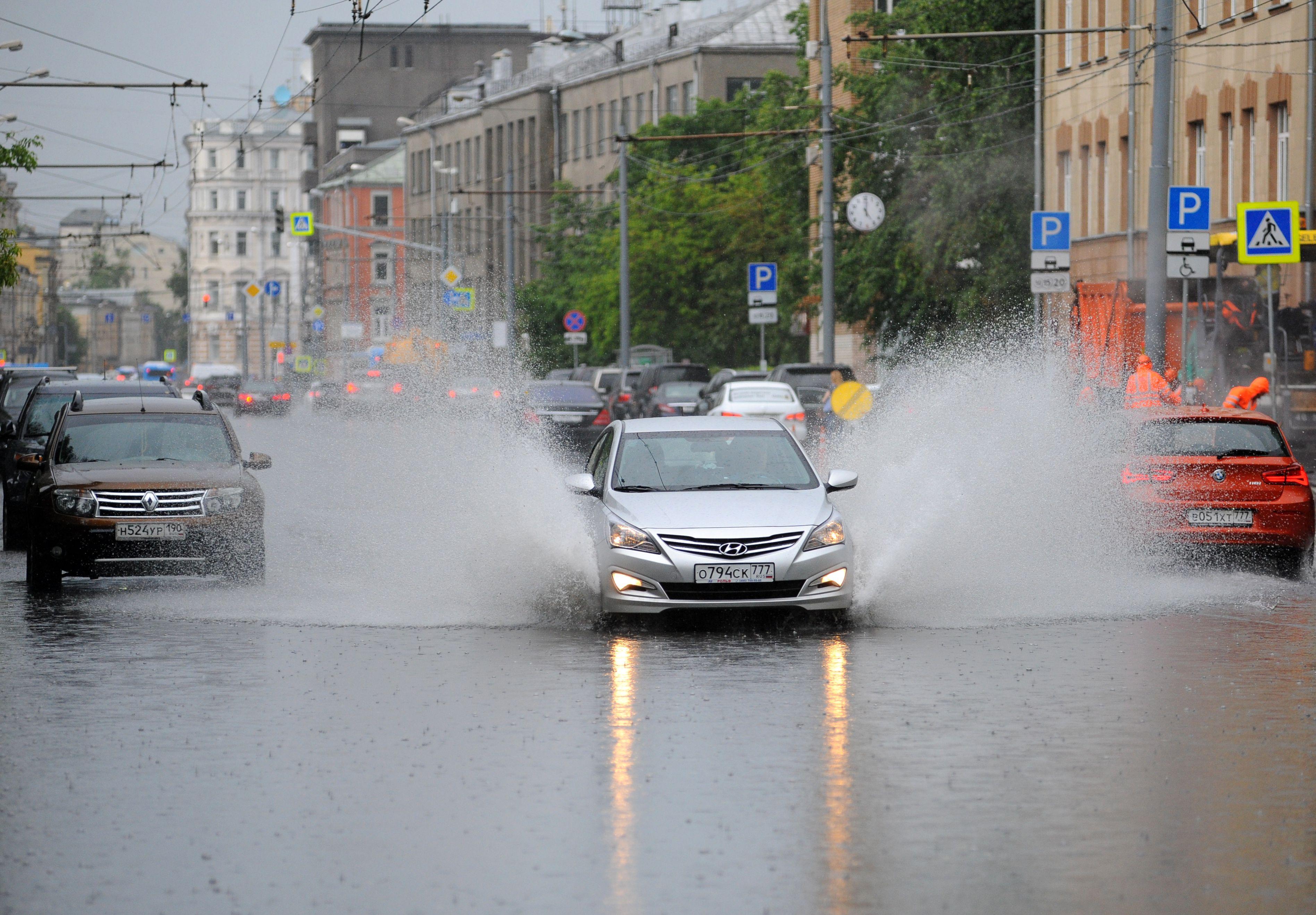 Вечером в четверг Москву ждут пробки и ДТП