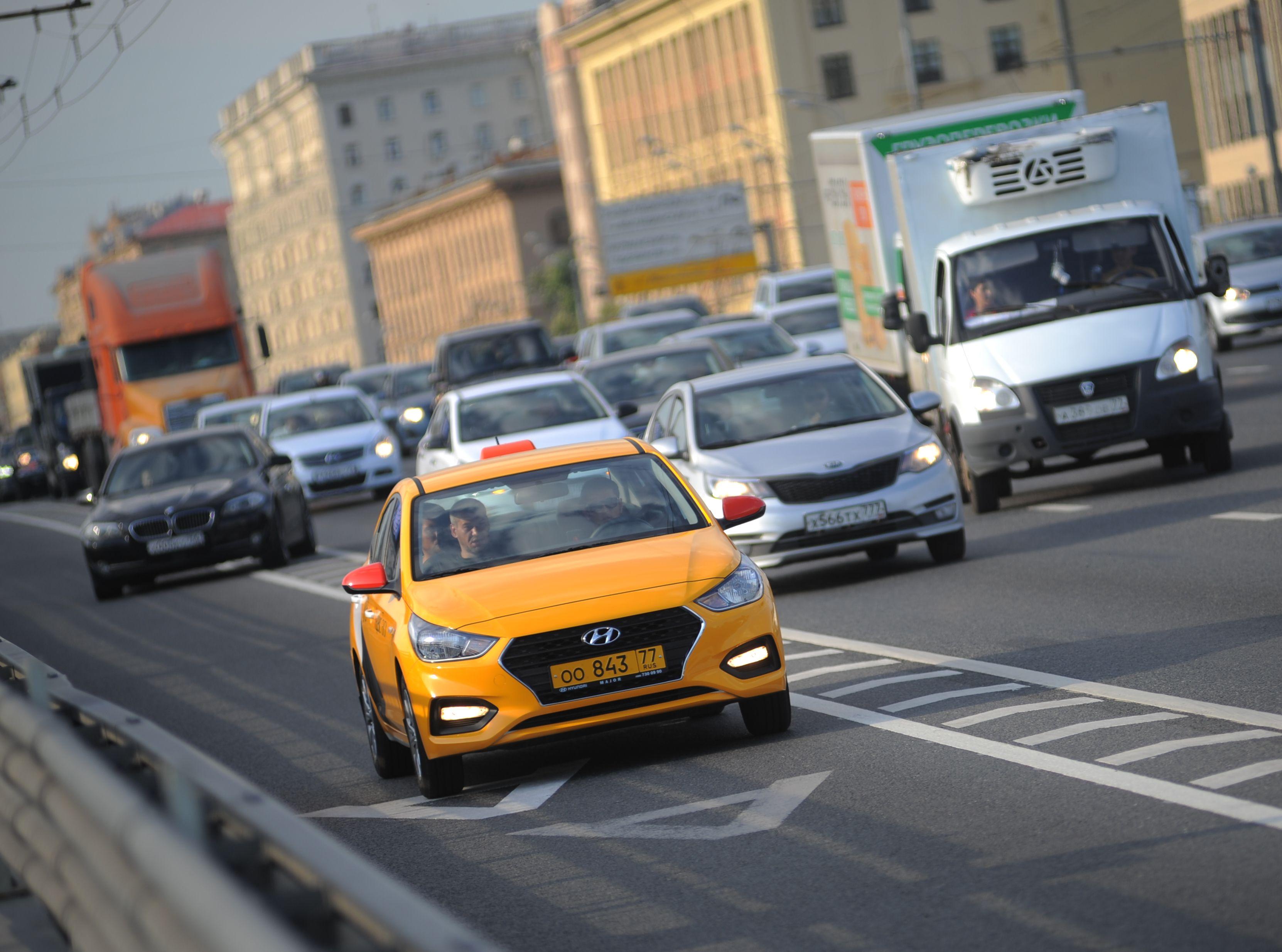 На московских улицах изменят скоростной режим