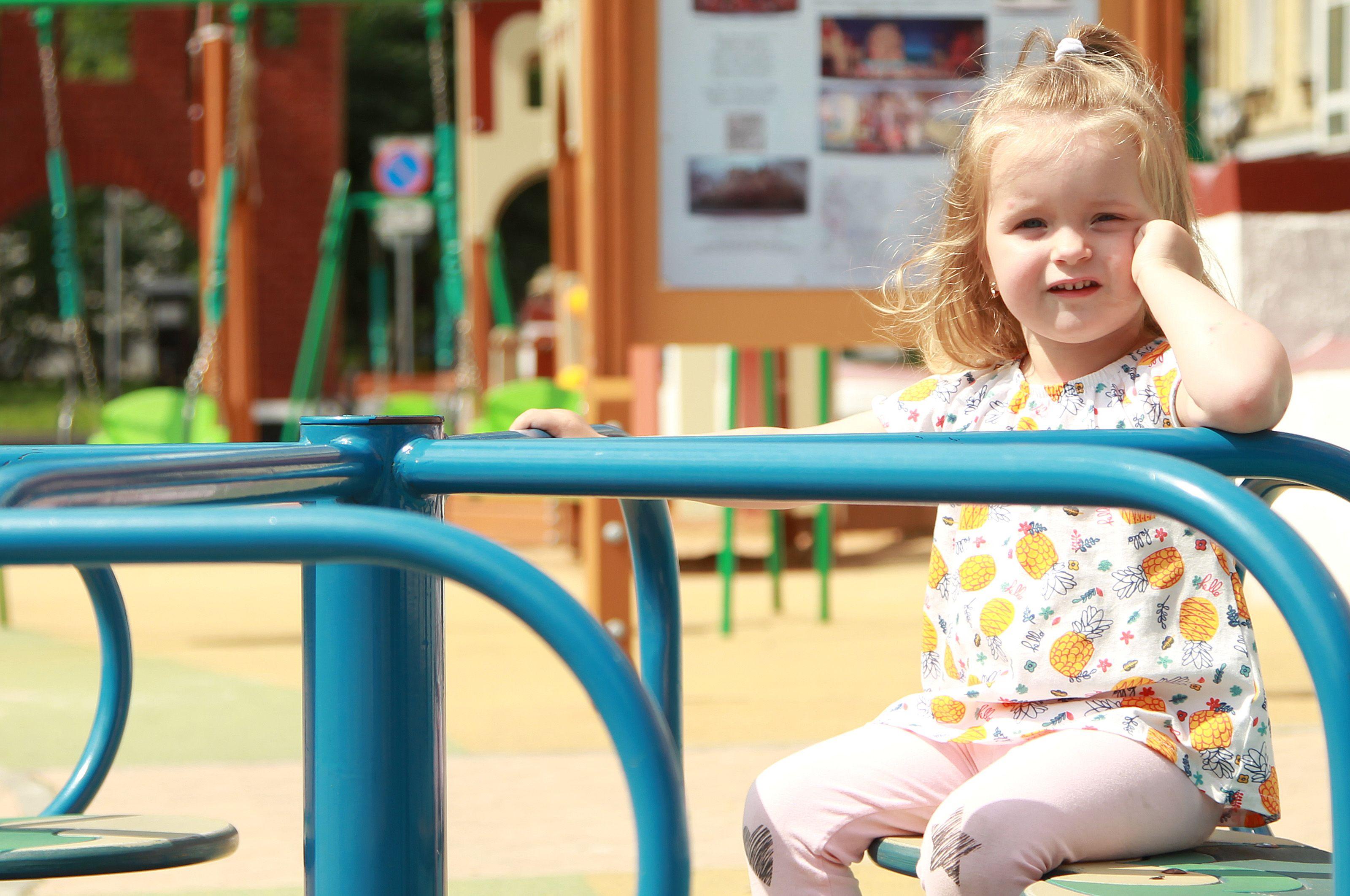 Обустройство детской площадки проведут в Воскресенском