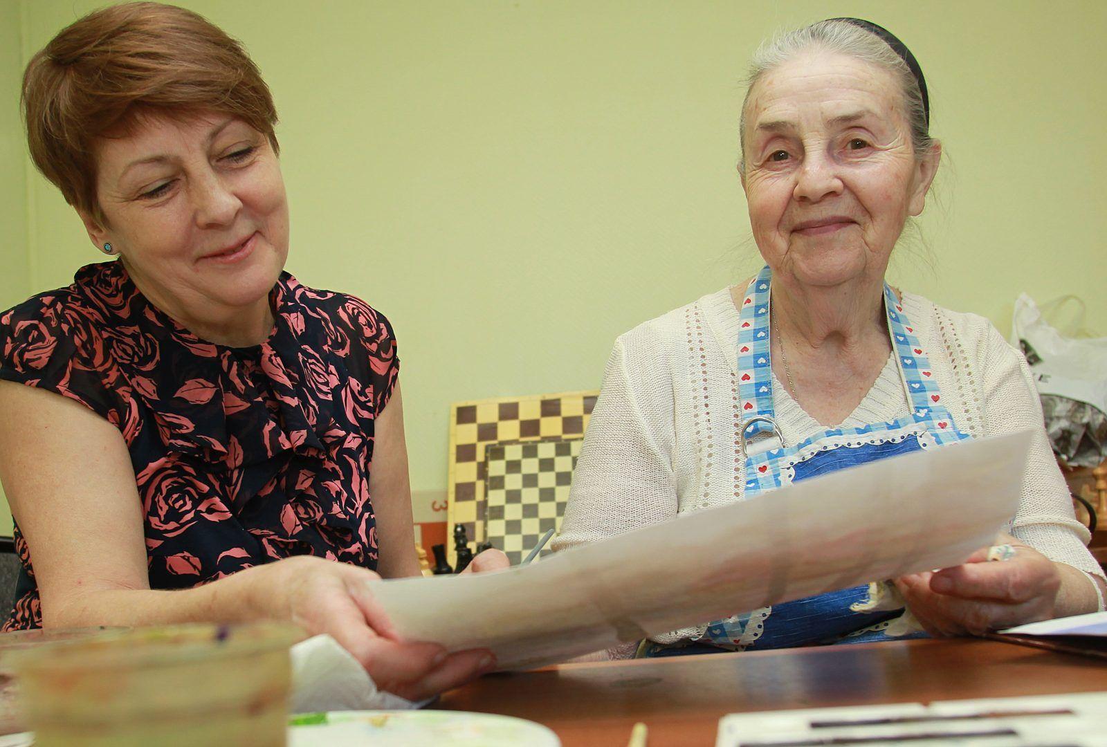 Представители «серебряного» возраста из Новофедоровского выступят на празднике. Фото: Наталия Нечаева «Вечерняя Москва»