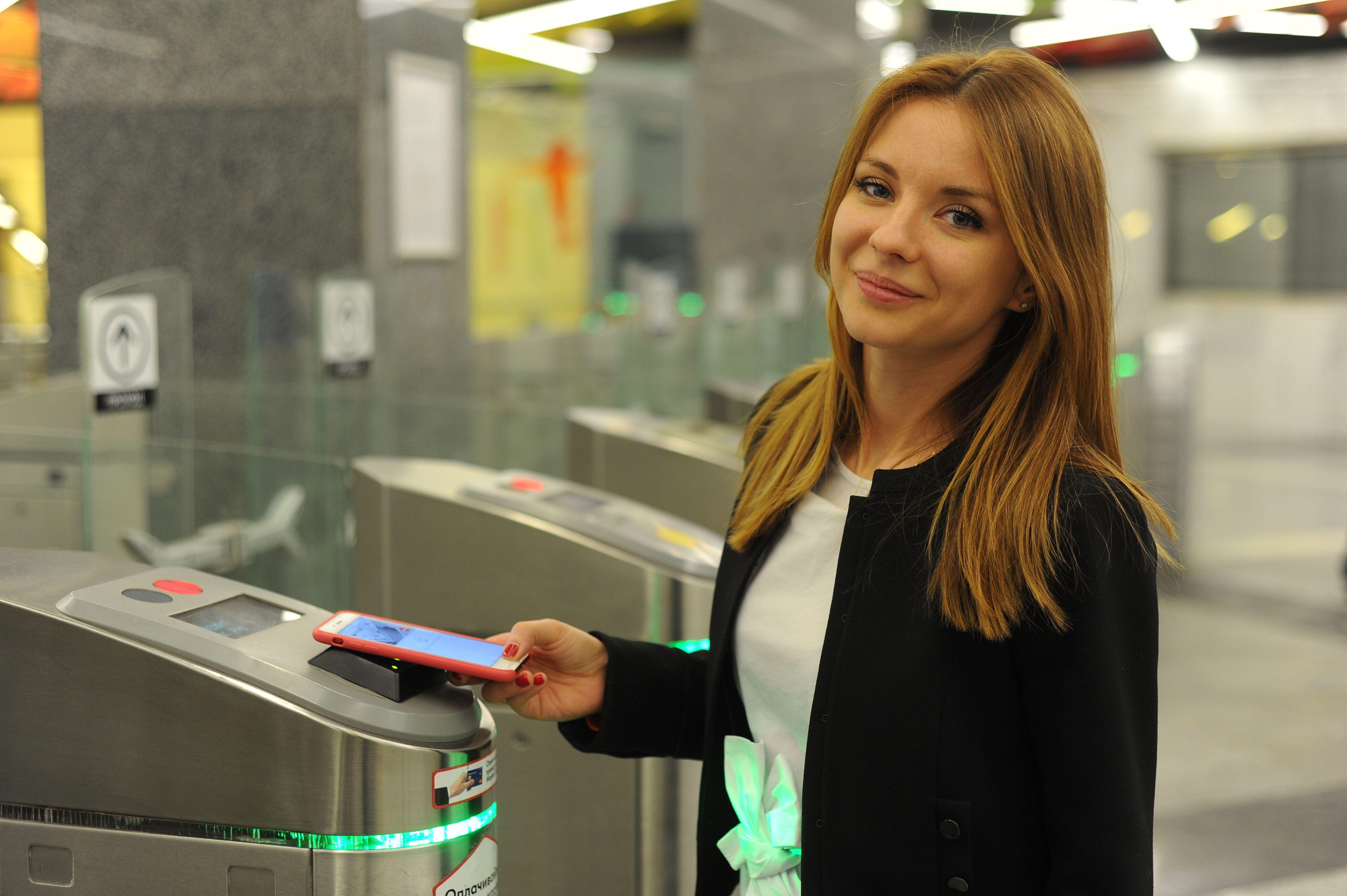 Бесконтактная оплата проезда на МЦК стала еще популярнее