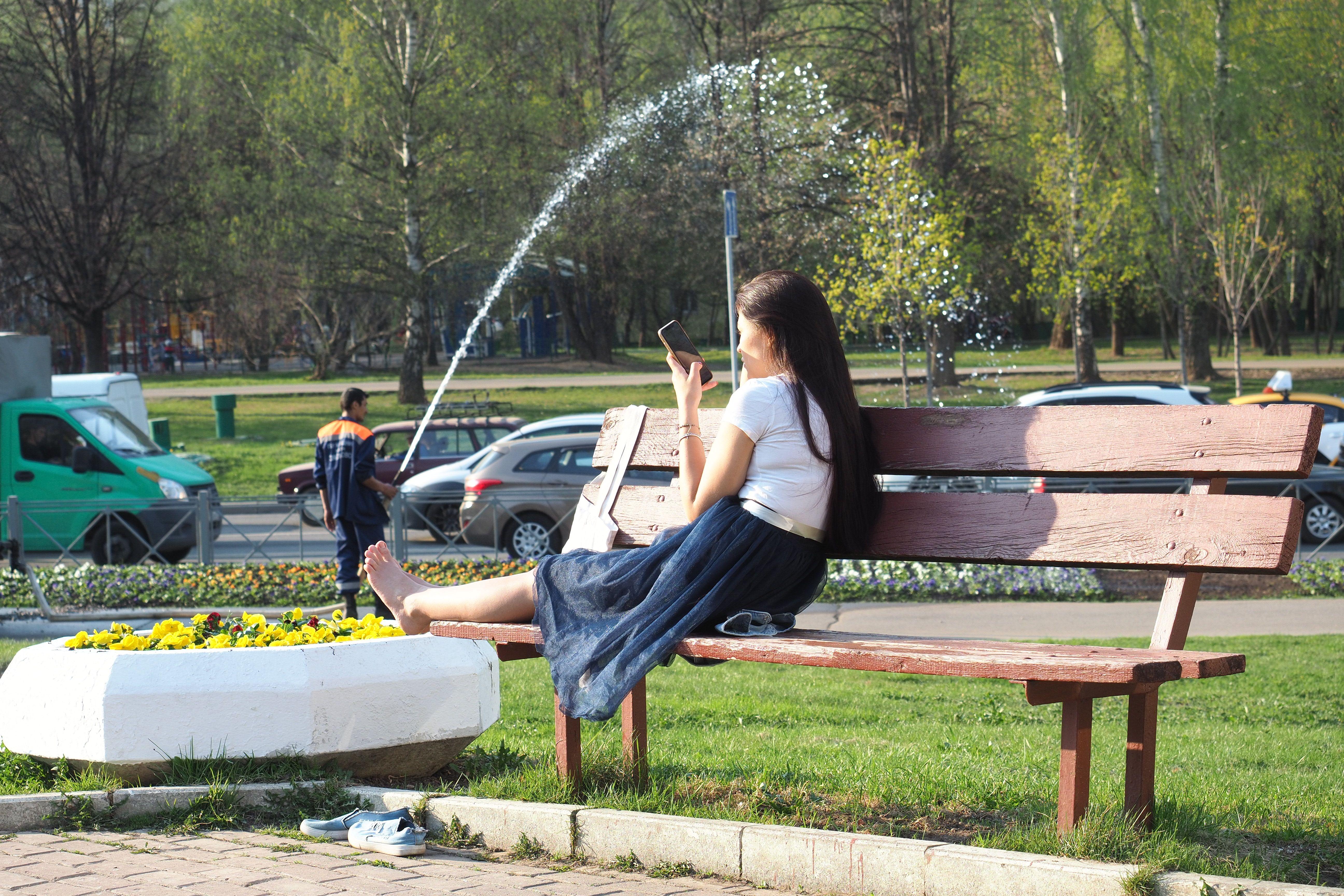 Вторник объявили самым жарким днем года в Москве