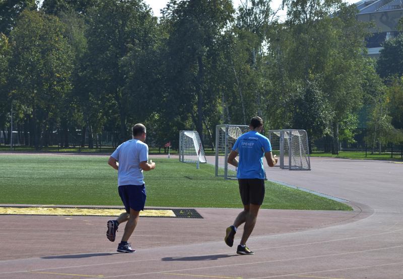Спортсмены из Вороновского станут участниками состязаний по бегу. Фото: Анна Быкова