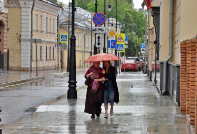 Облачность и кратковременные дожи ожидаются в Москве 10 мая