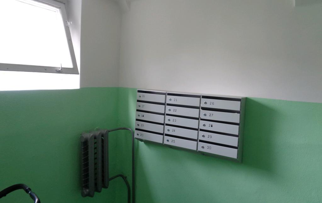 Подъезды жилого дома обновят в Рязановском