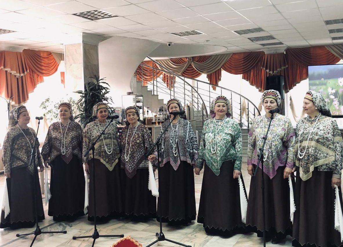 Насыщенную программу организовали для жителей Вороновского