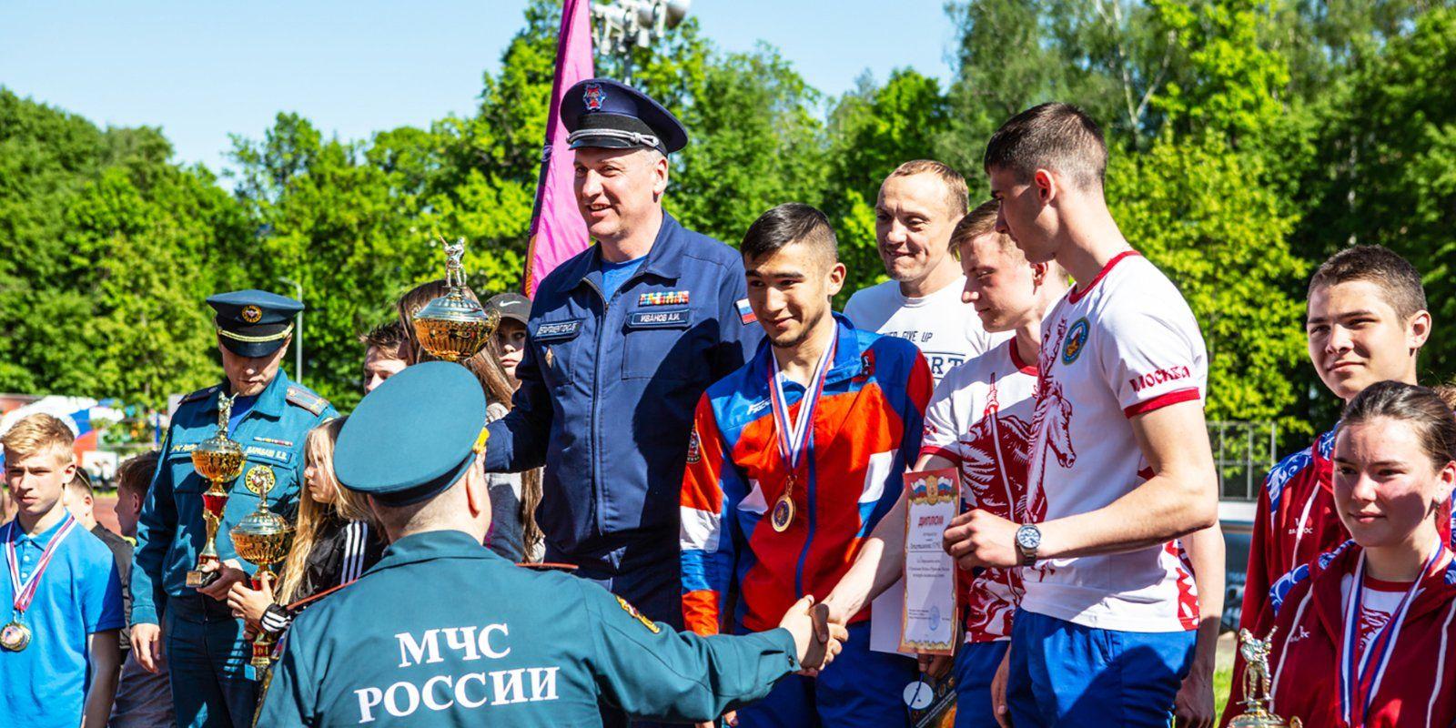 Сборная команда Департамента ГОЧСиПБ одержала победу в финале соревнований