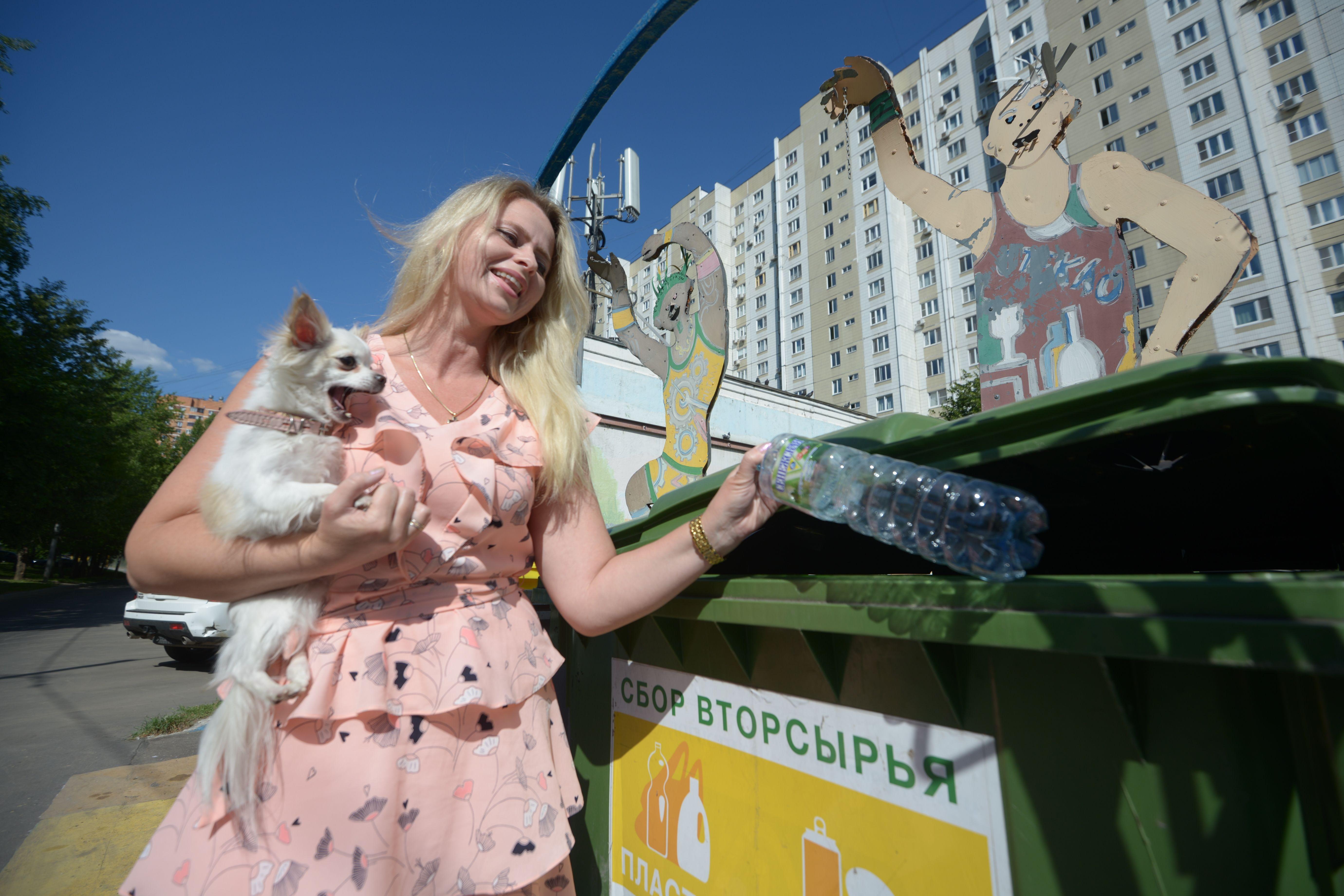 Москвичи проголосовали за организацию раздельного сбора мусора в квартирах