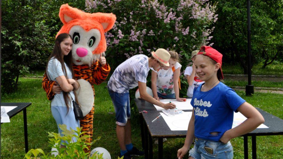 Всемирный день защиты детей отпраздновали в Краснопахорском