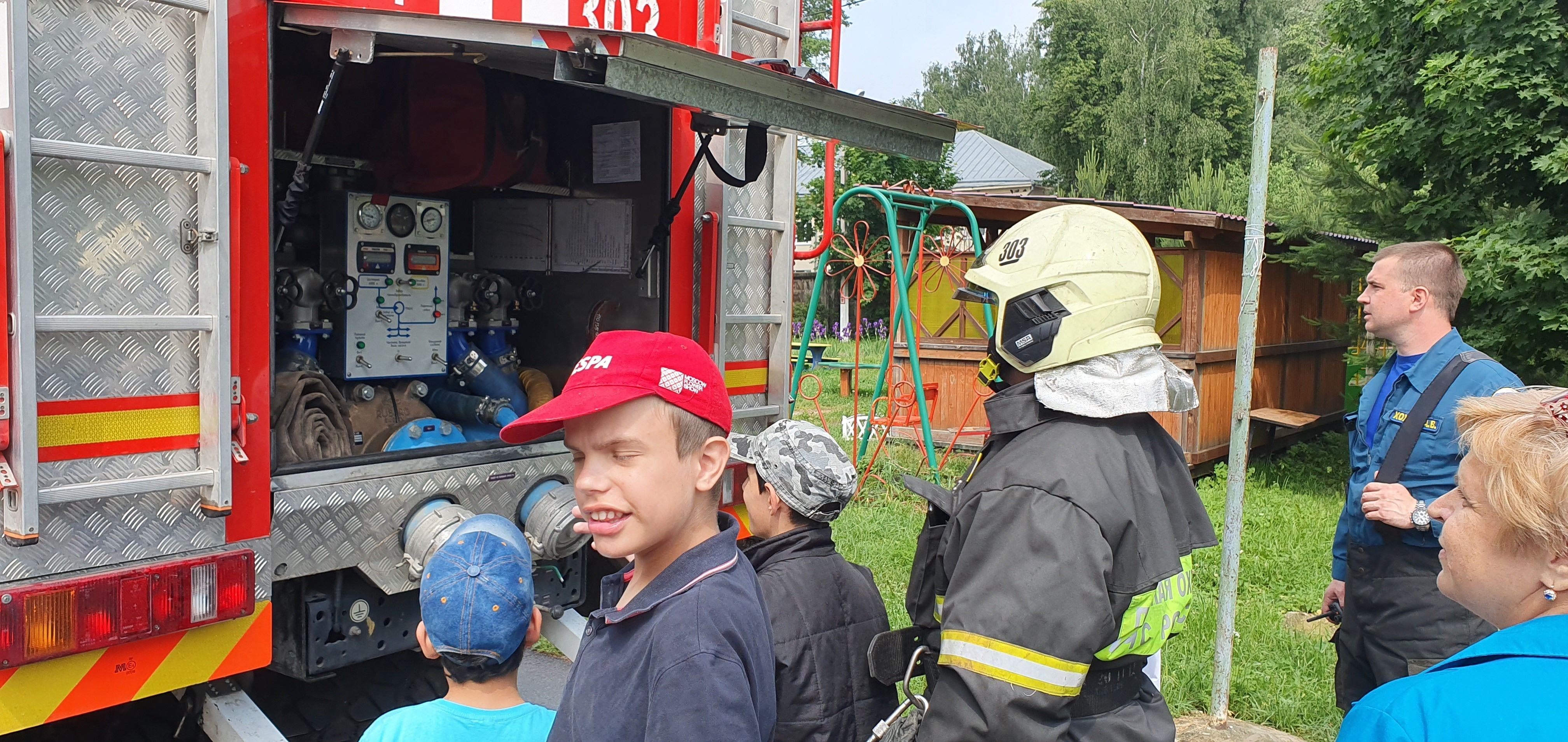 Праздник от пожарных Москвы «Дарить добро детям!»