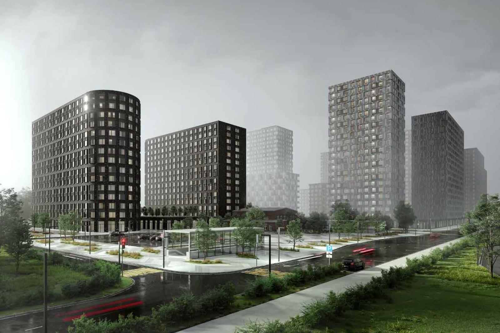 Жилой комплекс с мостами и озелененной крышей появится в Москве