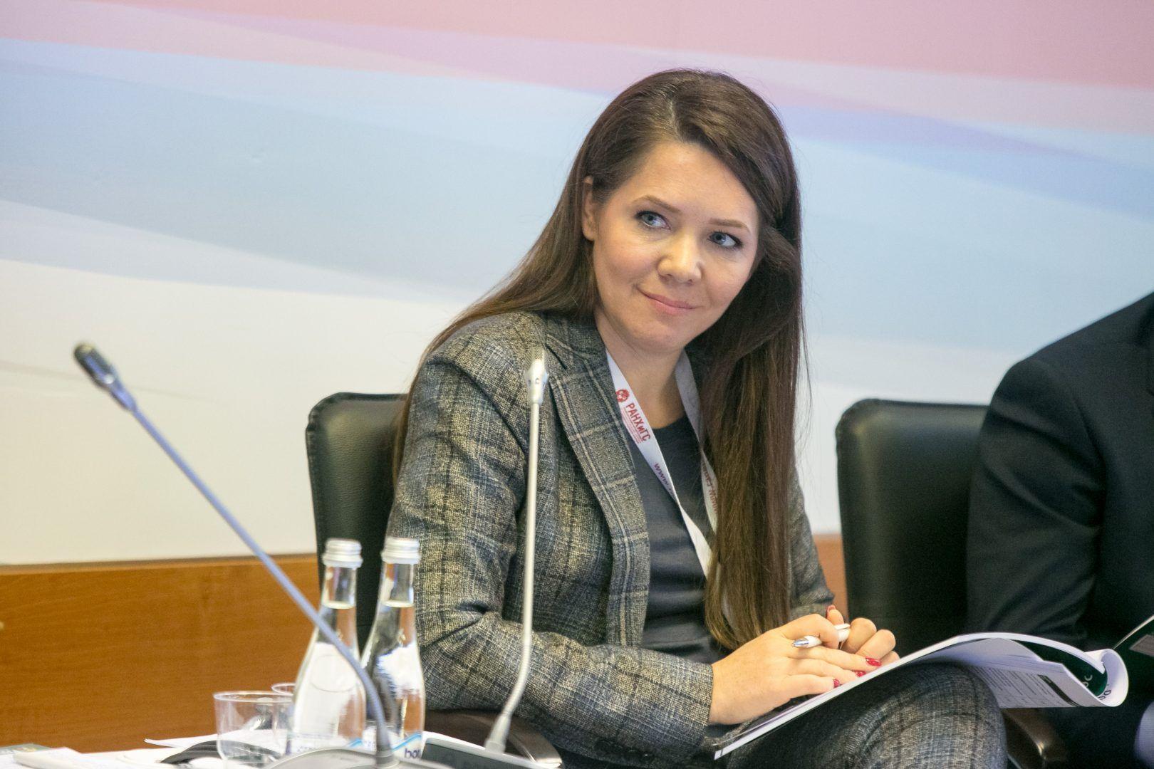 Заместитель мэра Москвы по вопросам социального развития Анастасия Ракова Фото: URA.RU/TASS